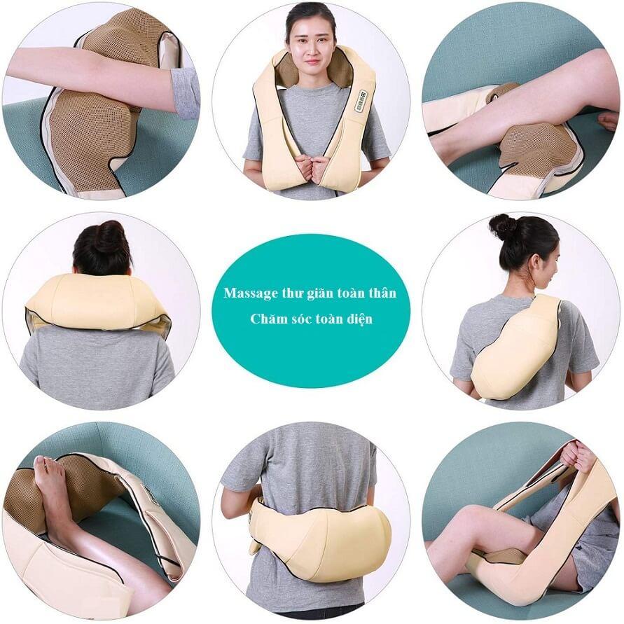 Chiếc massage cổ đa năng như này sẽ chiếm được nhiều tình cảm từ người dùng