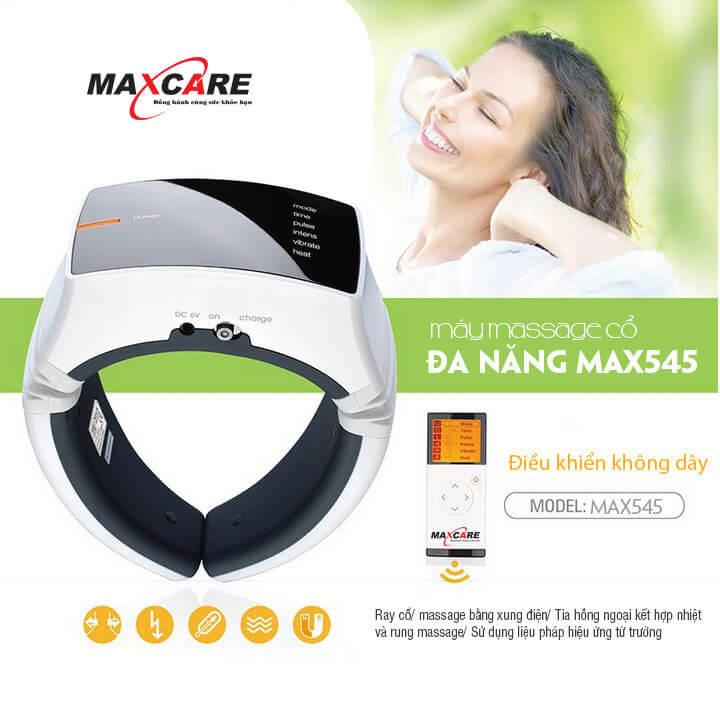Maxcare Max-545 kết hợp massage truyền thống và hiện đại cho hiệu quả cao