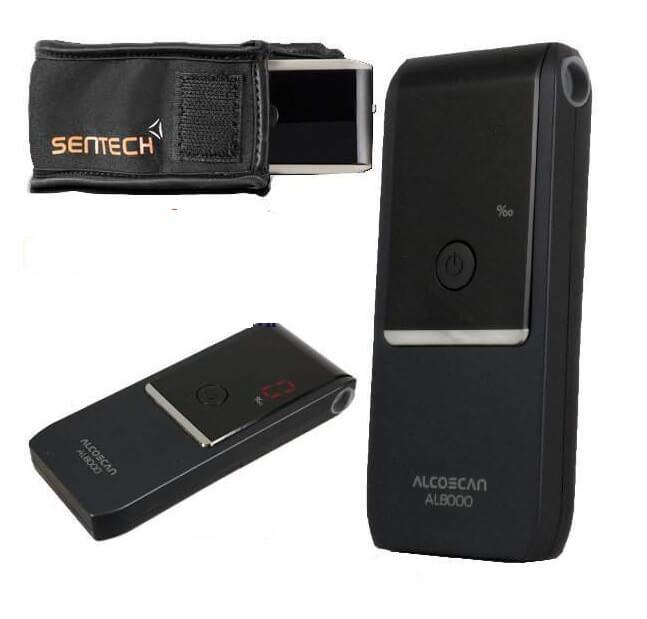 Hình ảnh máy đo nồng độ cồn Sentech AL8000