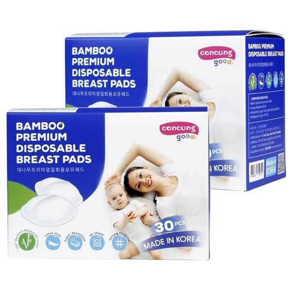 Sản phẩm miếng lót thấm sữa Concung Good siêu thấm, chống tràn và an toàn