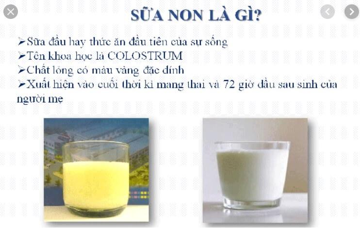 Sữa non tự nhiên từ mẹ là những giọt sữa vô cùng tốt cho trẻ sơ sinh