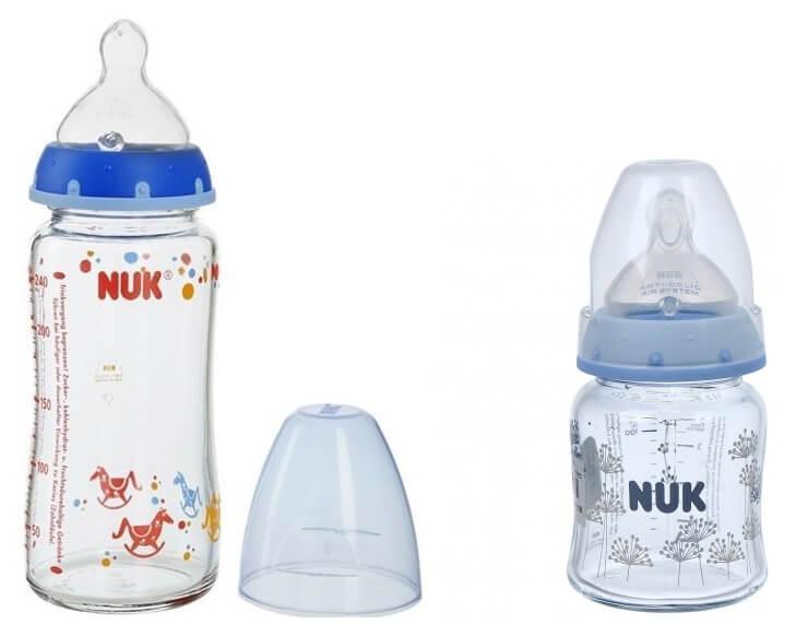 Bình sữa thủy tinh Nuk yêu thích của bé