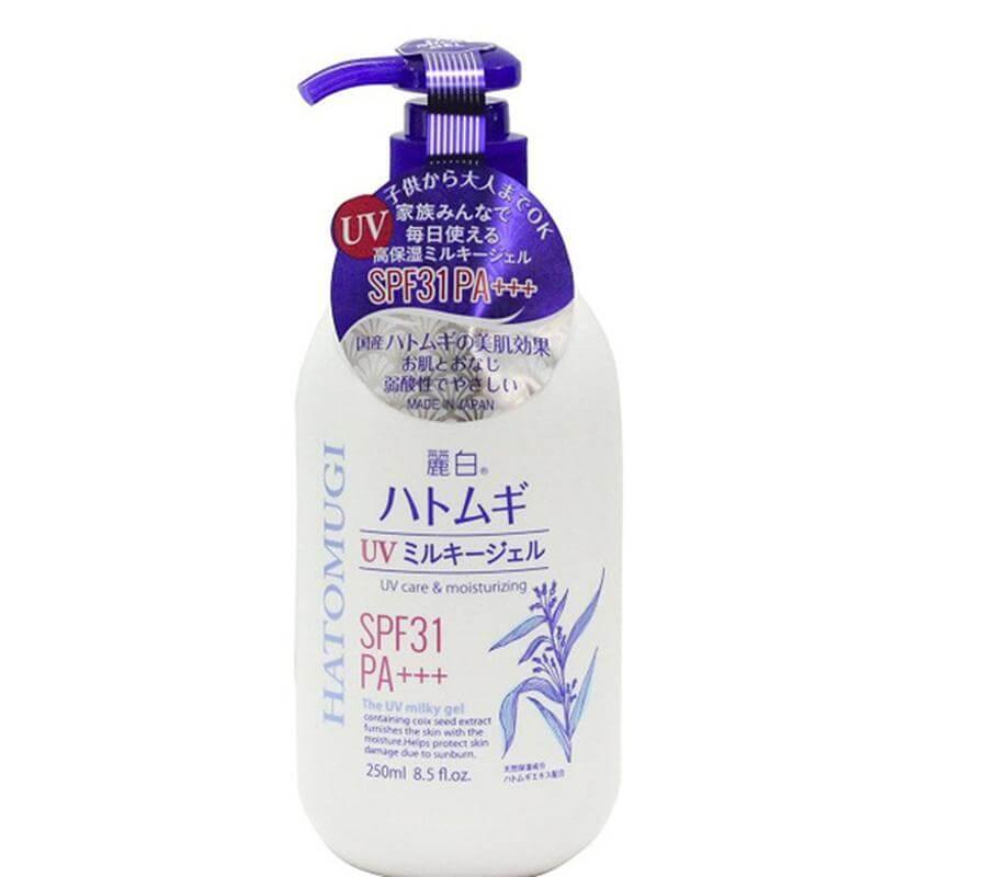 Sữa dưỡng thể trắng da Hatomugi 250ml
