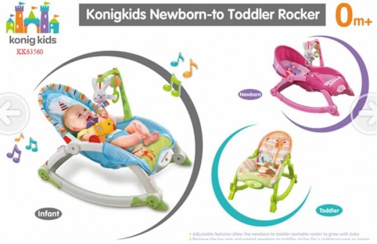 Konig Kids KK63560 an toàn và thu hút trẻ từ cái nhìn đầu tiên