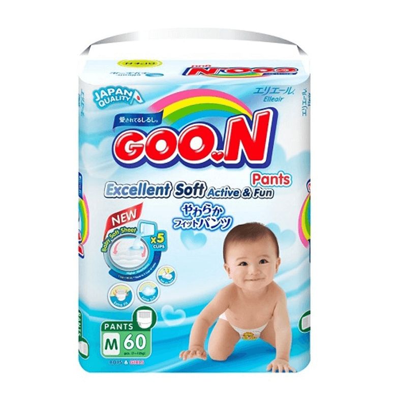 Bỉm Goon Nhật Bản cho trẻ sơ sinh