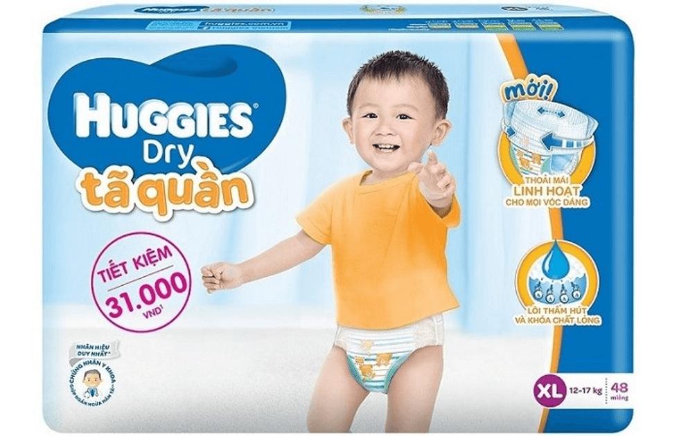 Tã Huggies cho trẻ sơ sinh
