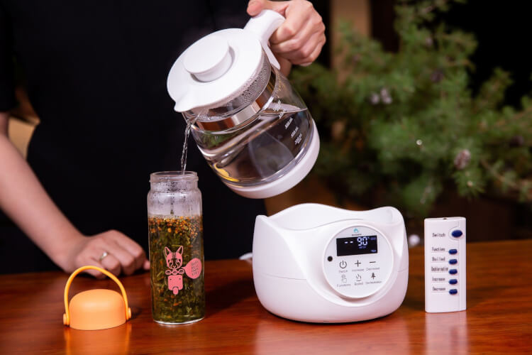 Nên chọn bình đun nước thủy tinh