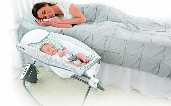 Ghế rung cho trẻ sơ sinh ngày càng phổ biến hơn