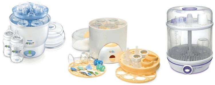 Kinh nghiệm chọn mua máy tiệt trùng bình sữa