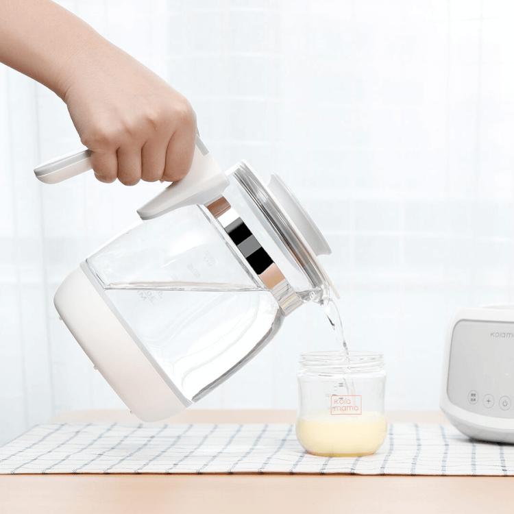Máy đun nước pha sữa nhỏ gọn nhưng đầy tiện ích