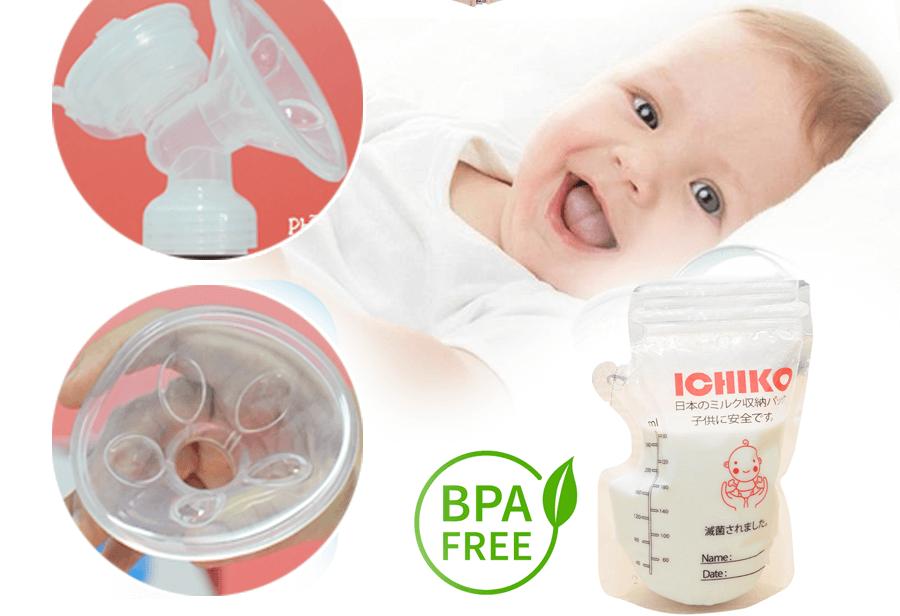 Máy hút sữa điện đôi Ichiko Nhật Bản - người bạn đồng hành đáng tin cậy của mẹ và bé