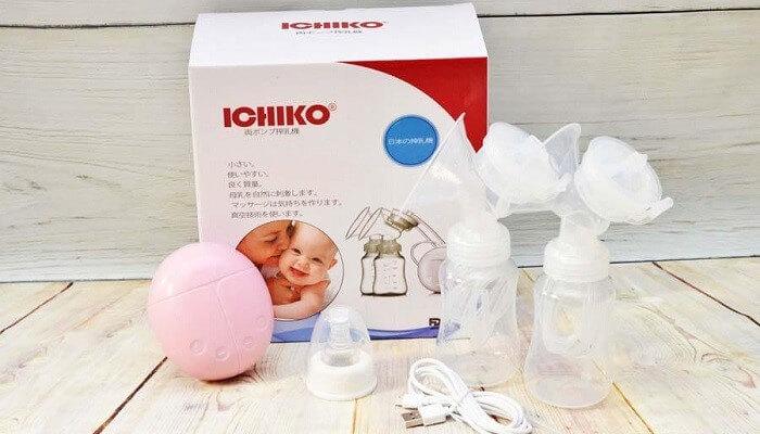 Máy hút sữa điện đôi Ichiko Nhật Bản