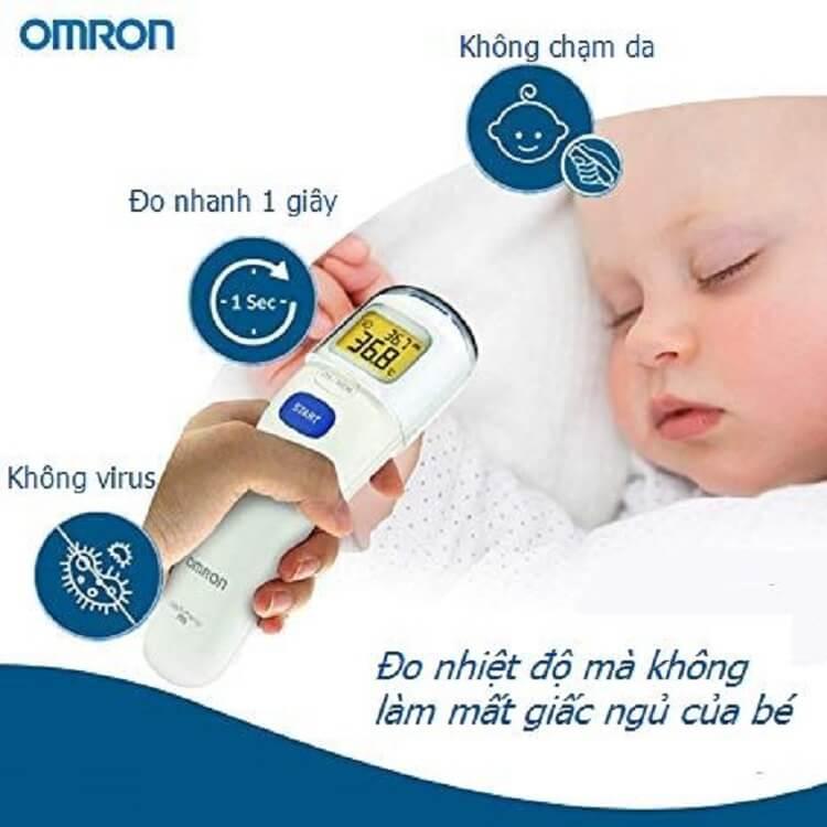 Nhiệt kế điện tử Omron có nhiều ưu điểm vượt trội
