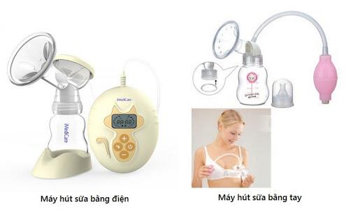 Tùy vào nhu cầu sử dụng để mẹ lựa chọn máy hút sữa phù hợp