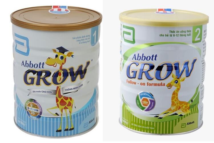Abbott Grow số 1 & 2 giúp bé cứng cáp và cao lớn hơn