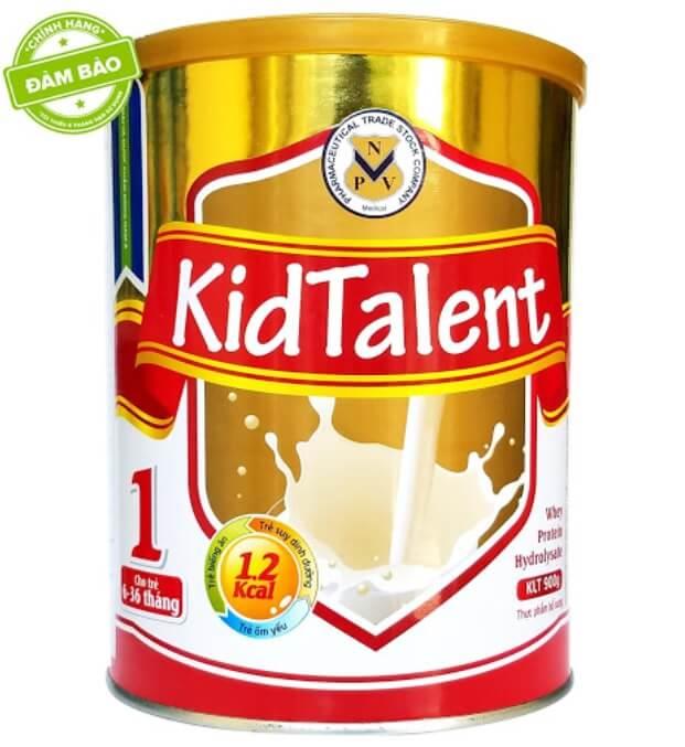Kidtalent số 1 giải pháp cho bé biếng ăn, thấp còi