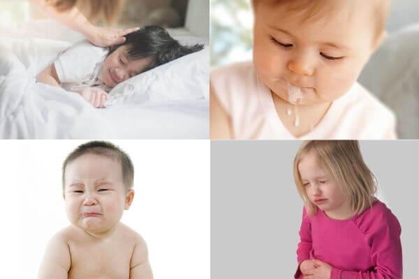 Hệ tiêu hóa bé kém, mẹ phải làm sao?