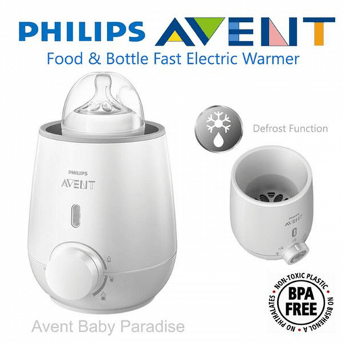 Máy hâm sữa Philips Avent SCF 355-00 hiện đại và rã đông siêu nhanh