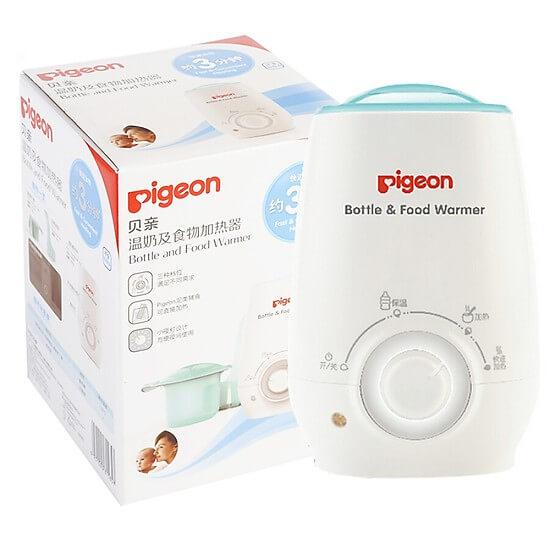 Máy hâm sữa Pigeon thiết kế đơn giản nhưng vô cùng tiện lợi