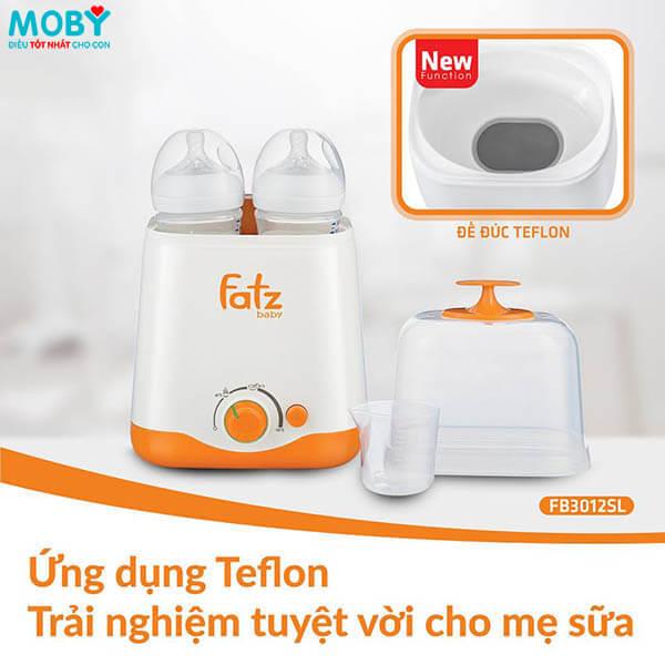 Máy hâm sữa và tiệt trùng đa năng Fatzbaby FB30122SL