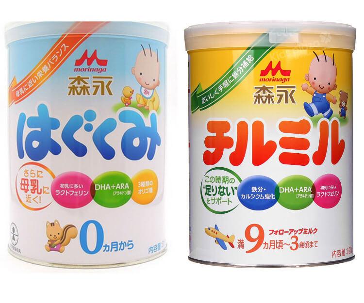 Sữa Morinaga của Nhật giảm nỗi lo táo bón ở trẻ