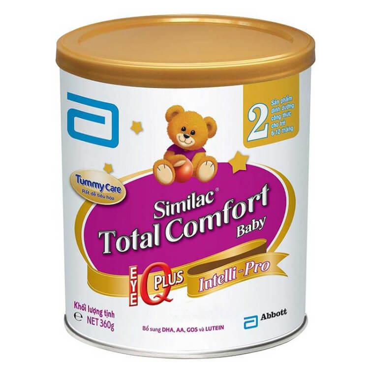 Sữa Similac Total Comfort dành cho bé hay rối loạn tiêu hóa