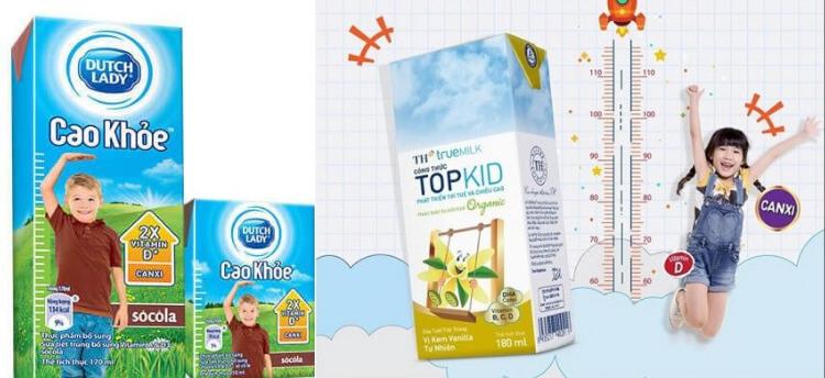 Mẹ chọn sữa tươi nào phát triển chiều cao tốt nhất cho bé? Dutch Lady hay TH True Milk?