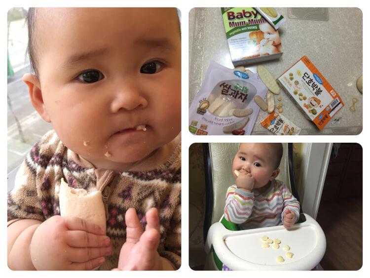 Bánh ăn dặm đem lại nhiều lợi ích thiết thực cho bé