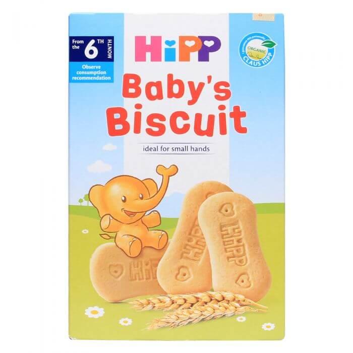 Bánh ăn dặm Hipp cung cấp các dưỡng chất cho bé mỗi ngày