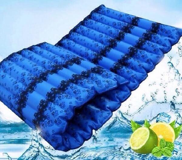 Nệm nước cho người dùng cảm giác mát mẻ, dễ chịu vào ngày nắng nóng