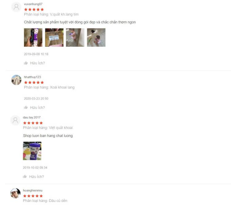 Review của các mẹ về bánh ăn dặm Plum trên Shopee