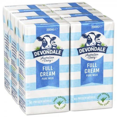 Sữa nguyên kem của Úc Devondale giúp trẻ nhỏ tăng cân đều đặn và nhanh đạt chuẩn