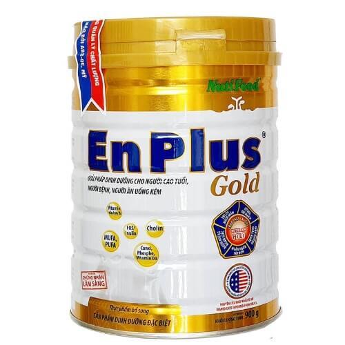 Sữa tăng kg cho người gầy Enplus Gold của Nutifood rất giàu hàm lượng dinh dưỡng