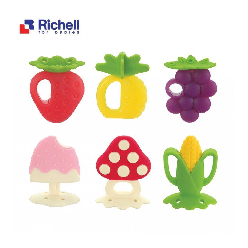 Gặm nướu hình trái cây của Richell