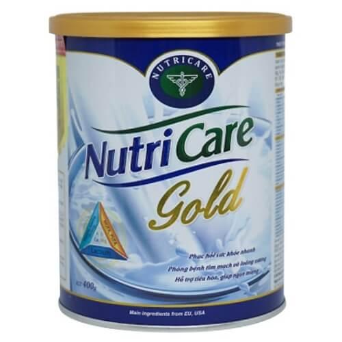 NutriCare Gold là một trong những dòng sữa Việt giúp cải thiện cân nặng cực kì hiệu quả