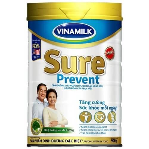 Vinamil Sure Prevent giúp người gầy tăng kg hiệu quả, giảm mệt mỏi, ăn ngủ tốt