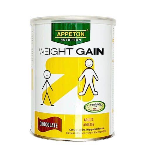 Appeton Weight Gain là sữa tăng kg cho người gầy cao cấp được sản xuất tại Pháp