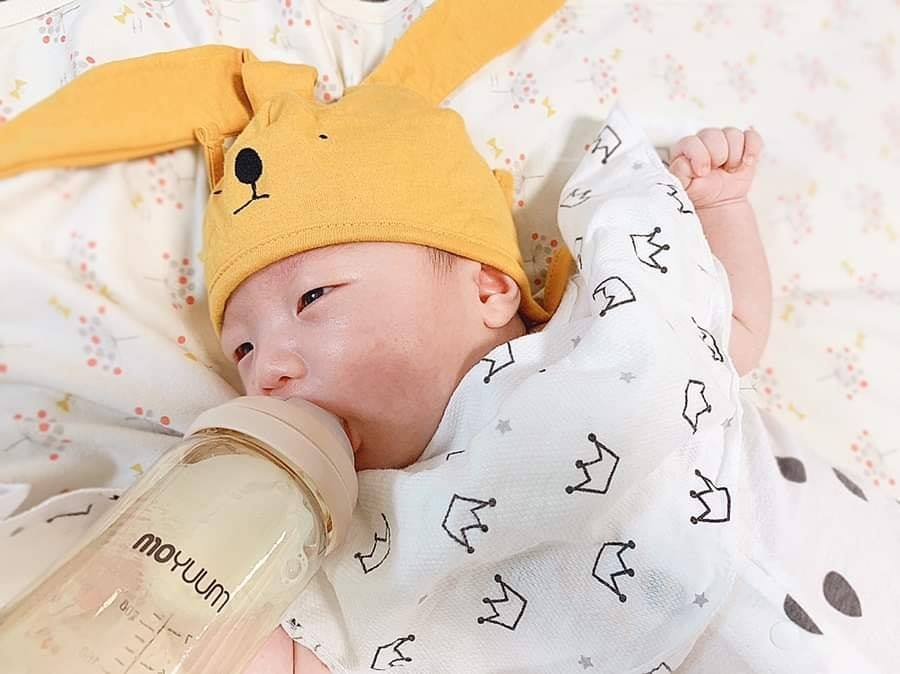 Bình sữa Moyuum được rất nhiều bà mẹ tin dùng