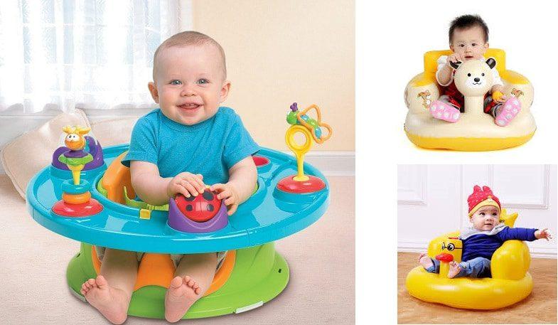 Các loại ghế tập ngồi cho bé có trên thị trường hiện nay