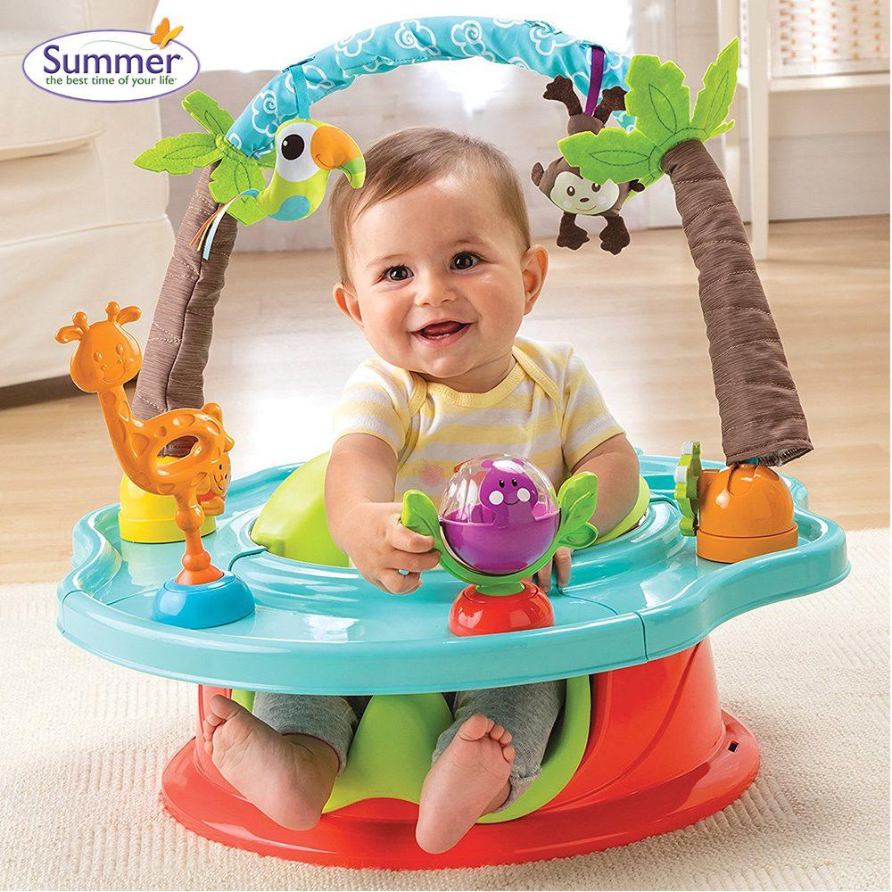 Ghế tập ngồi cho bé 4 tháng tuổi trở lên Summer Infant