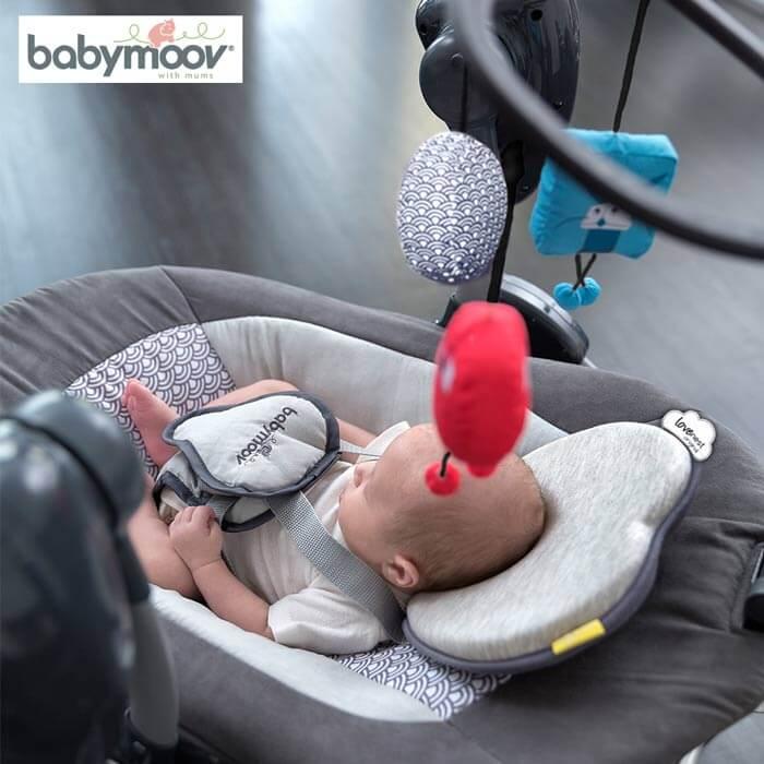 Gối chống bẹp đầu Babymoov