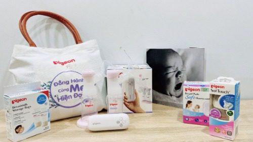 Không khó để mua máy hút sữa điện đôi Pigeon go mini