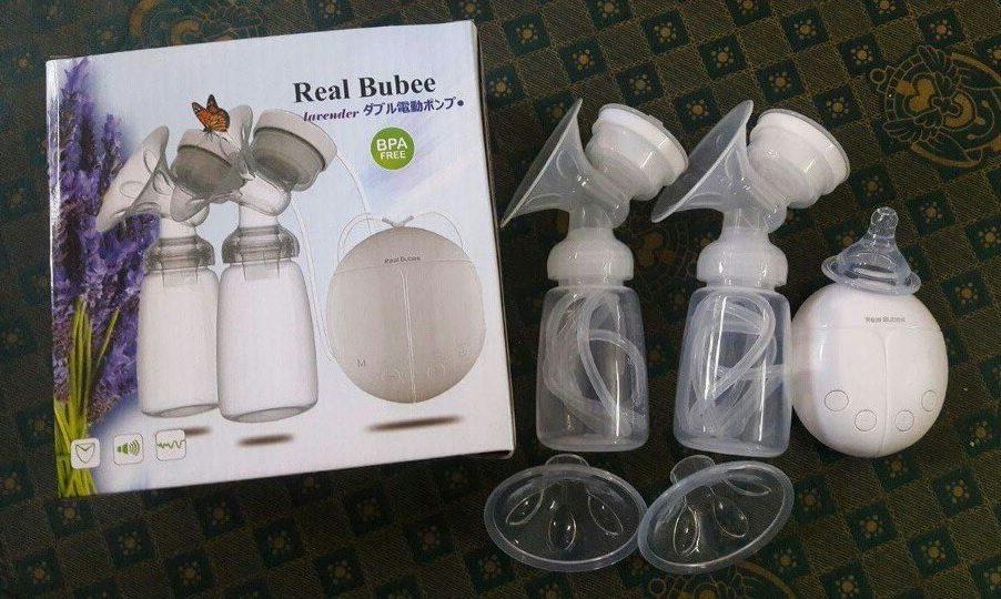 Máy hút sữa giá rẻ Real Bubee được nhiều bà mẹ tin dùng
