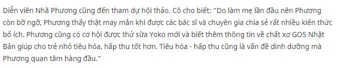 Review từ diễn viên Nhã Phương