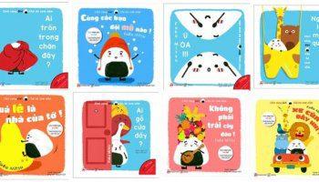 Sách Ehon cho bé 0-1 tuổi