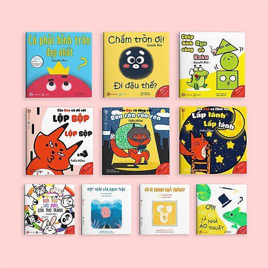 Một số sách Ehon Nhật Bản