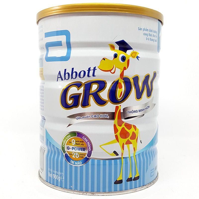 Sữa Abbott Grow 1 sự lựa chọn hoàn hảo cho sự khởi đầu của bé