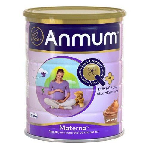 Sữa bầu Anmum vị thơm ngon, dễ uống