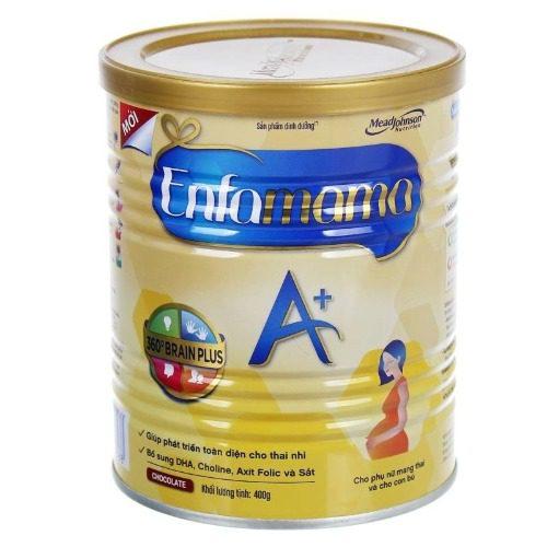 Sữa bầu Enfamama A có hàm lượng DHA cao hơn