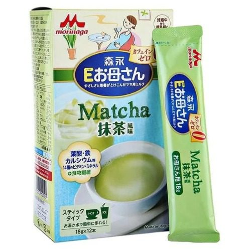 Sữa bầu Morinaga vị trà xanh dễ uống